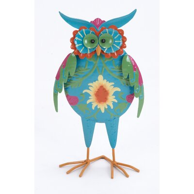 Woodland Imports Iron Owl Decor