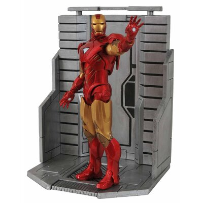 Diamond Selects Marvel Select Avengers Movie Iron Man Figure