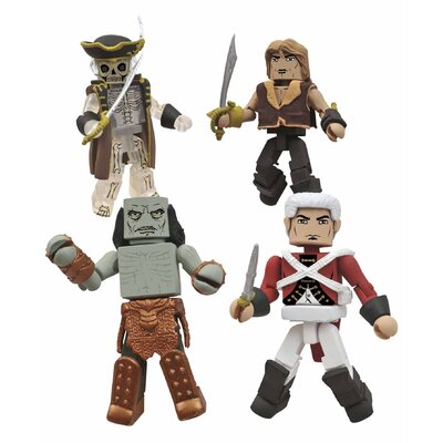 Diamond Selects Calico Jack Pirate Minimates Box Set