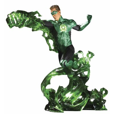 DC Lantern Movie Hal Jordan Energy Statue
