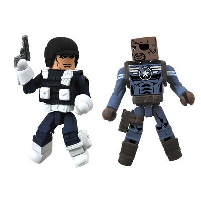 Diamond Selects Marvel Minimates Series 51: Nick Fury, Jr. and Shield Agent