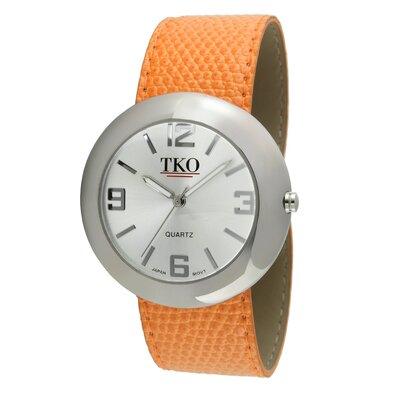 TKO ORLOGI Women's TK616 Leather Slap Watch