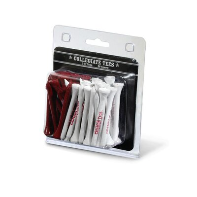 Team Golf NCAA Imprinted Golf Tee - Pack of 50