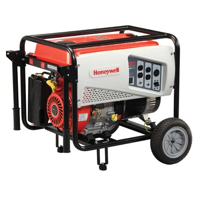 Honeywell Generators 6,500 Watt Portable Gas Powered Generator