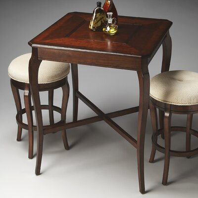 Plantation Counter Height Pub Table Set