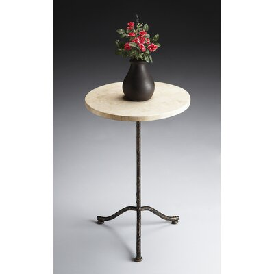 Metalworks Pedestal End Table