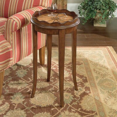 Butler Plantation Cherry Scalloped End Table