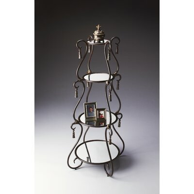 Butler Metalworks Etagere in Distressed Dark Pewter