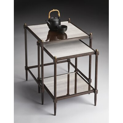 Metalworks 2 Piece Nesting Tables