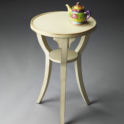 Masterpiece Round Pedestal End Table
