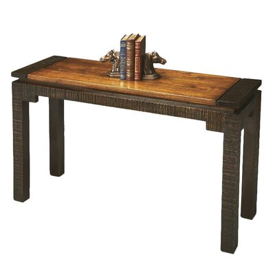 Butler Mountain Lodge Rustic Console Table Reviews Wayfair