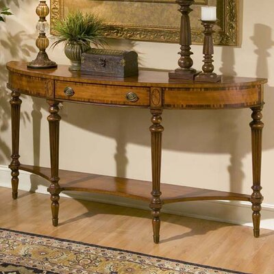 Connoisseur's Demilune Console Table