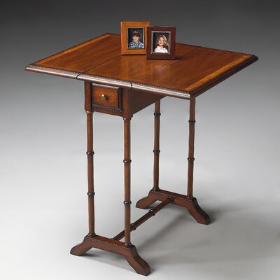 Masterpiece Drop-Leaf End Table