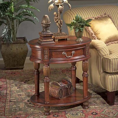Masterpiece Oval End Table