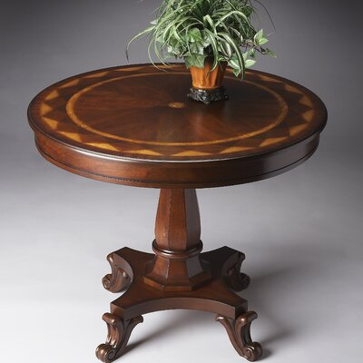Plantation Cherry Short End Table