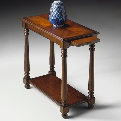 Butler Plantation Cherry Chairside Table