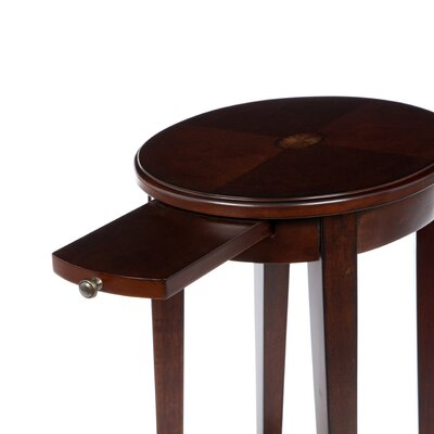 Butler Plantation Cherry Round Accent Table