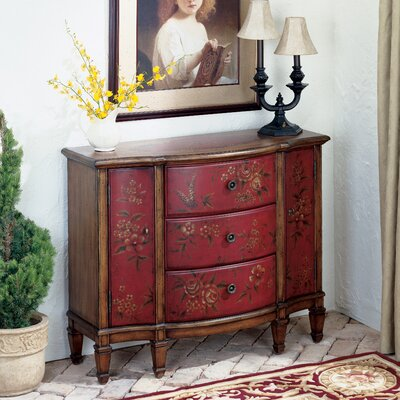 Artist's Originals 3 Drawer Console Cabinet