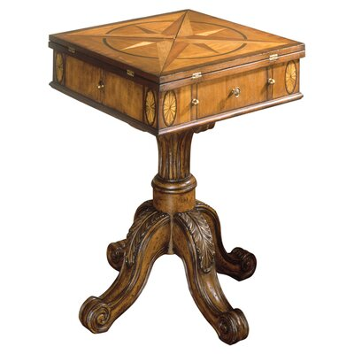 Connoisseur's Chess and Checker Game Table
