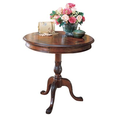 Butler Plantation Cherry Pedestal End Table