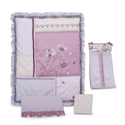 Kids Line Fleur Crib Bedding Collection
