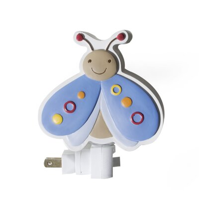 Kids Line Cute As A Bug Night Light