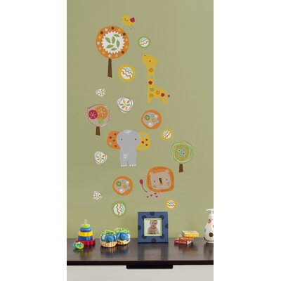 Kids Line Safari Dream Wall Decal
