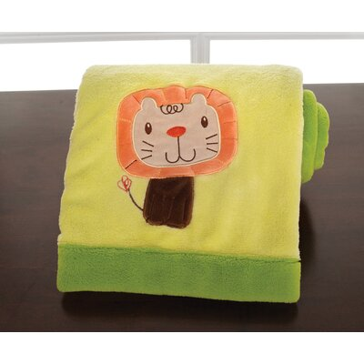 Happy Tails Embroidered Boa Blanket