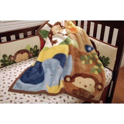 Jungle 123 High Pile Blanket
