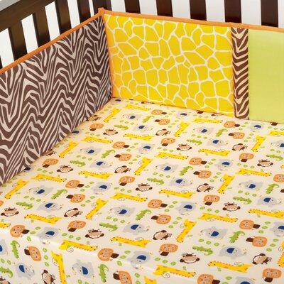 Kids Line Happy Tails All Around Bumper Set