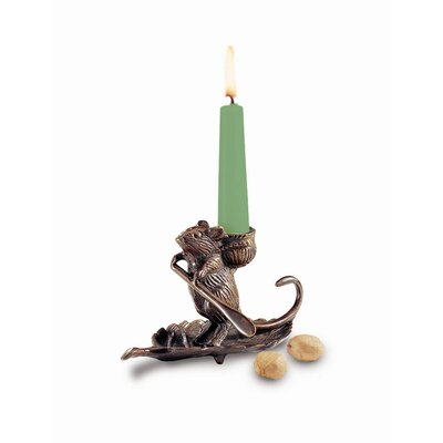 ACHLA Intrepid Mouse Candle Holder
