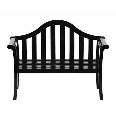 ACHLA Camelback Entryway Wood Garden Bench
