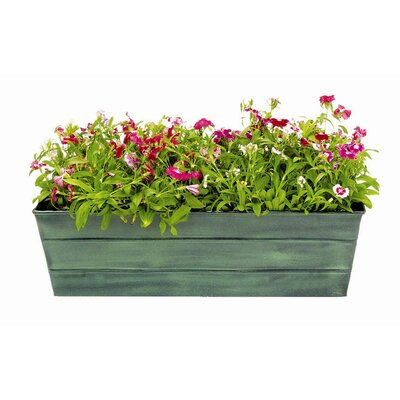 ACHLA Standard Galvanized Tin Window Box