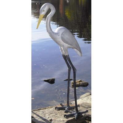 ACHLA Great Egret I Statue