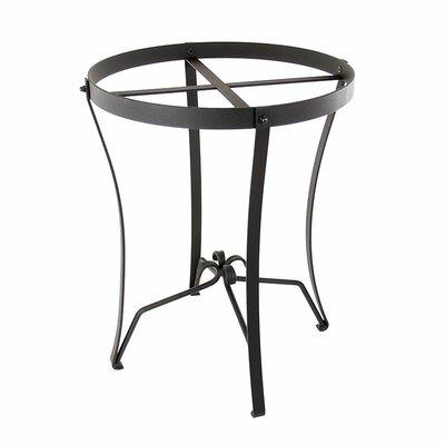 Round Wrought Iron Stand