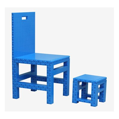 JEKCA Homebuilder Kids' Table and Chair Set