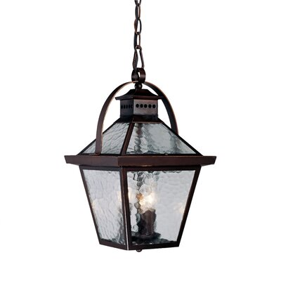 Acclaim Lighting Bay Street 3 Light Outdoor Hanging Lantern