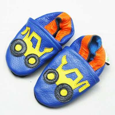 Truck Soft Sole Leather Baby Shoes