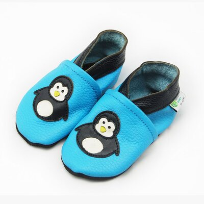 Penguin Soft Sole Leather Baby Shoes