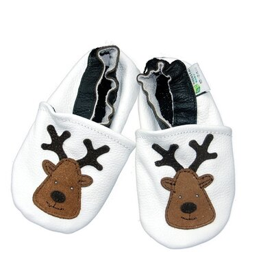 Augusta Baby Reindeer Soft Sole Leather Baby Shoes