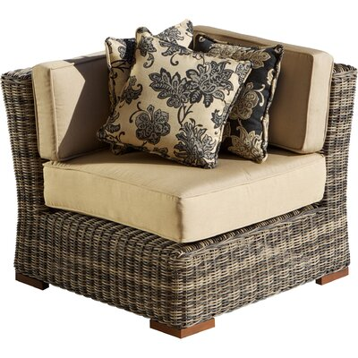 Resort Corner Sectional Piece with Cushions