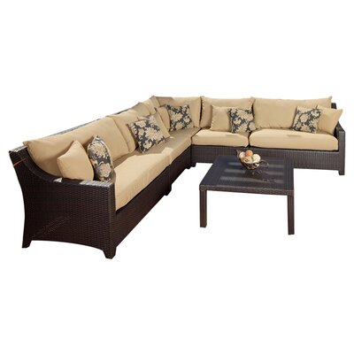 RST Outdoor Delano 6 Piece Deep Seating Group with Cushions