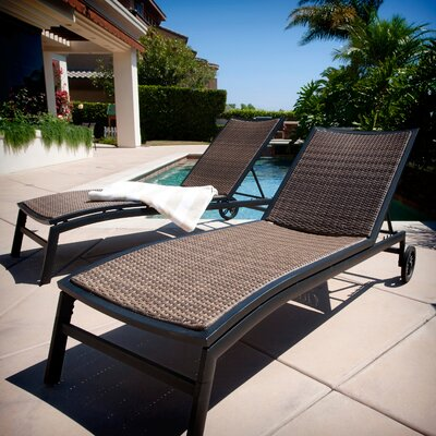 RST Outdoor Zen Chaise Lounger (Set of 2)