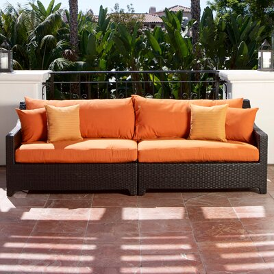 RST Outdoor Tikka Patio Sofa with Cushions