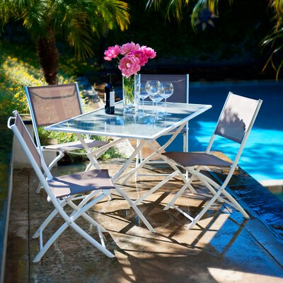 RST Outdoor Miami 5 Piece Dining Set