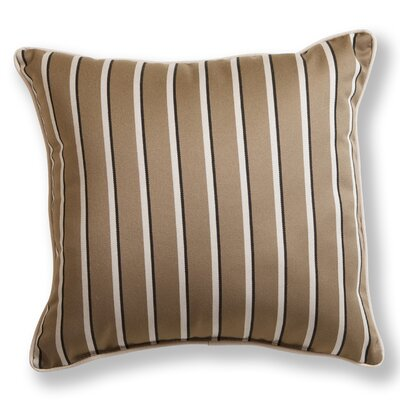 Sunbrella Patio Striped Throw Pillow