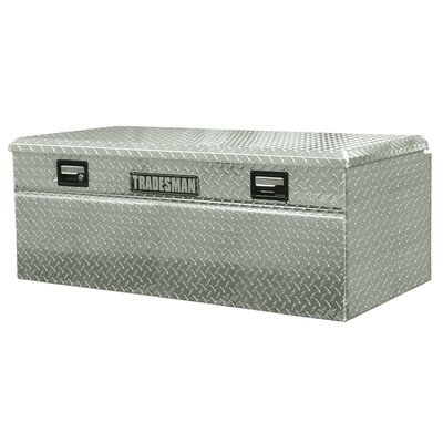 Tradesman Wide Flush Mount Single Lid Truck Tool Box
