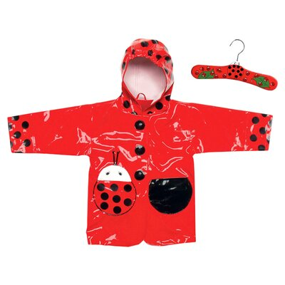 <strong>Kidorable</strong> Ladybug Raincoat