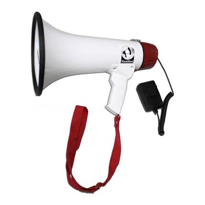 Hamilton Electronics Mighty Mic 15 Watt Megaphone with Voice Recording Mic