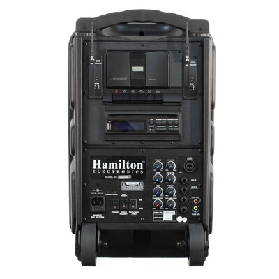 Hamilton Electronics Wireless Portable 100 Watt PA System